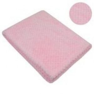 Soft Touch Pink Waffle Wrap Mary Shortle