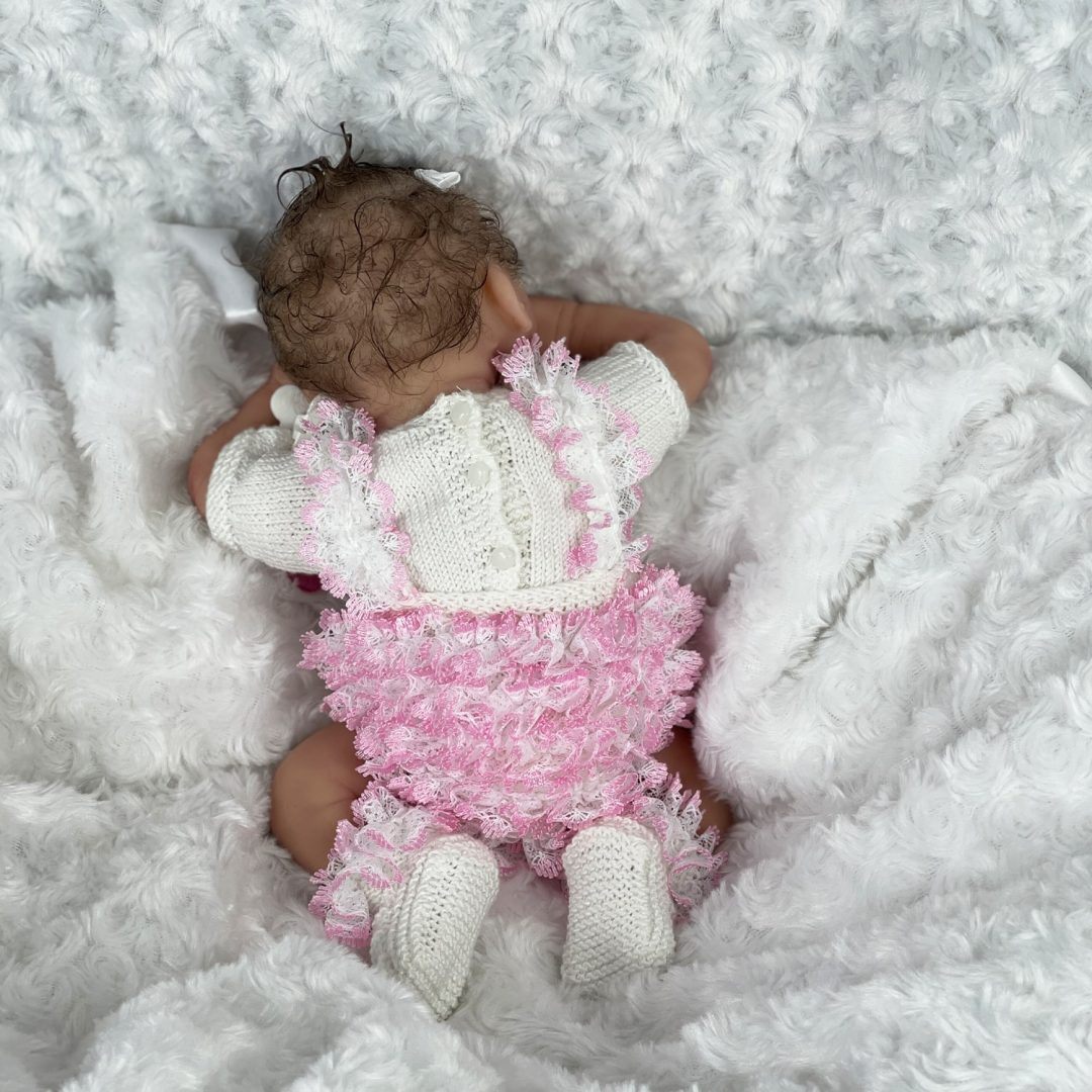 Tiny Toes Silicone Baby Doll Mary Shortle 1-min
