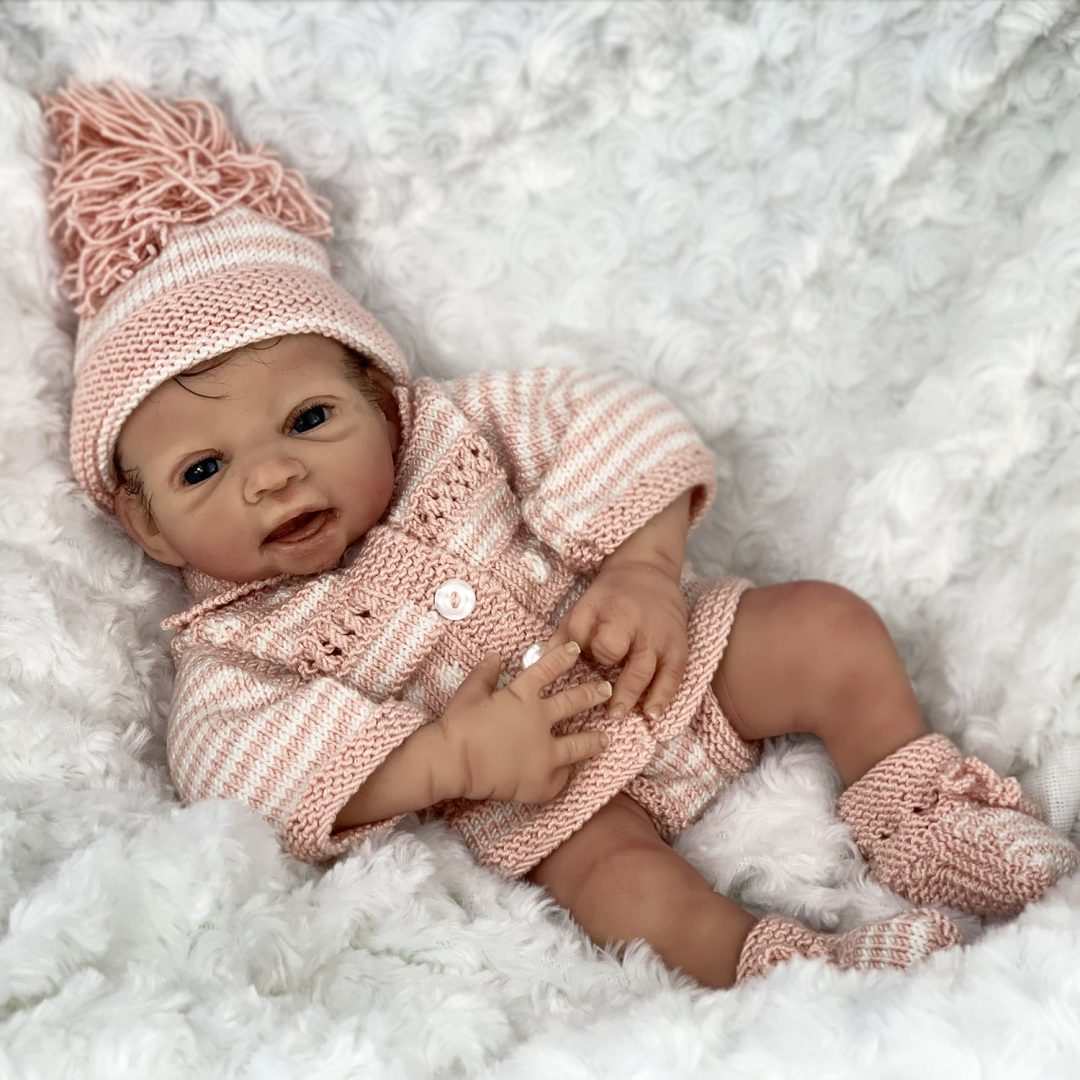 Twinkle Toes Silicone Baby Doll Mary Shortle