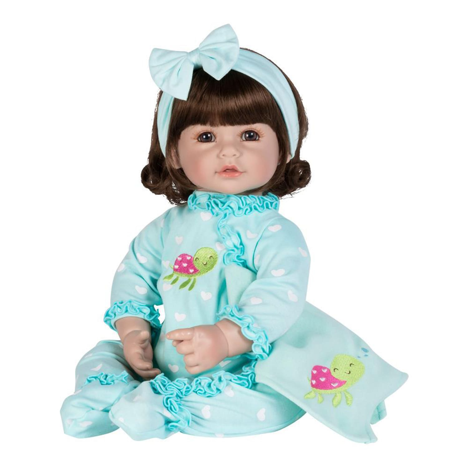 Adora ToddlerTime Doll Sleepy Turtle Girl Mary Shortle