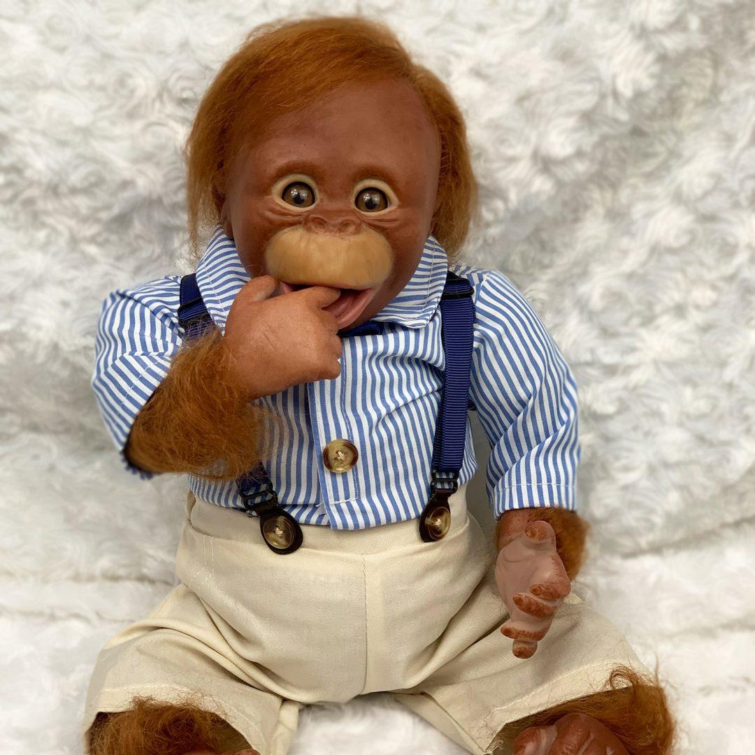 Albert Monkey Reborn Boy Mary Shortle