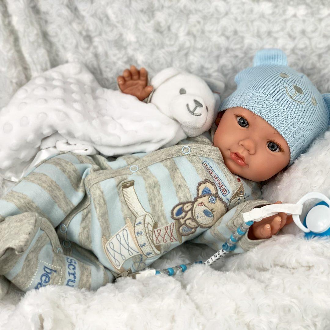 Cutie Pie Comforter Reborn Boy Mary Shortle