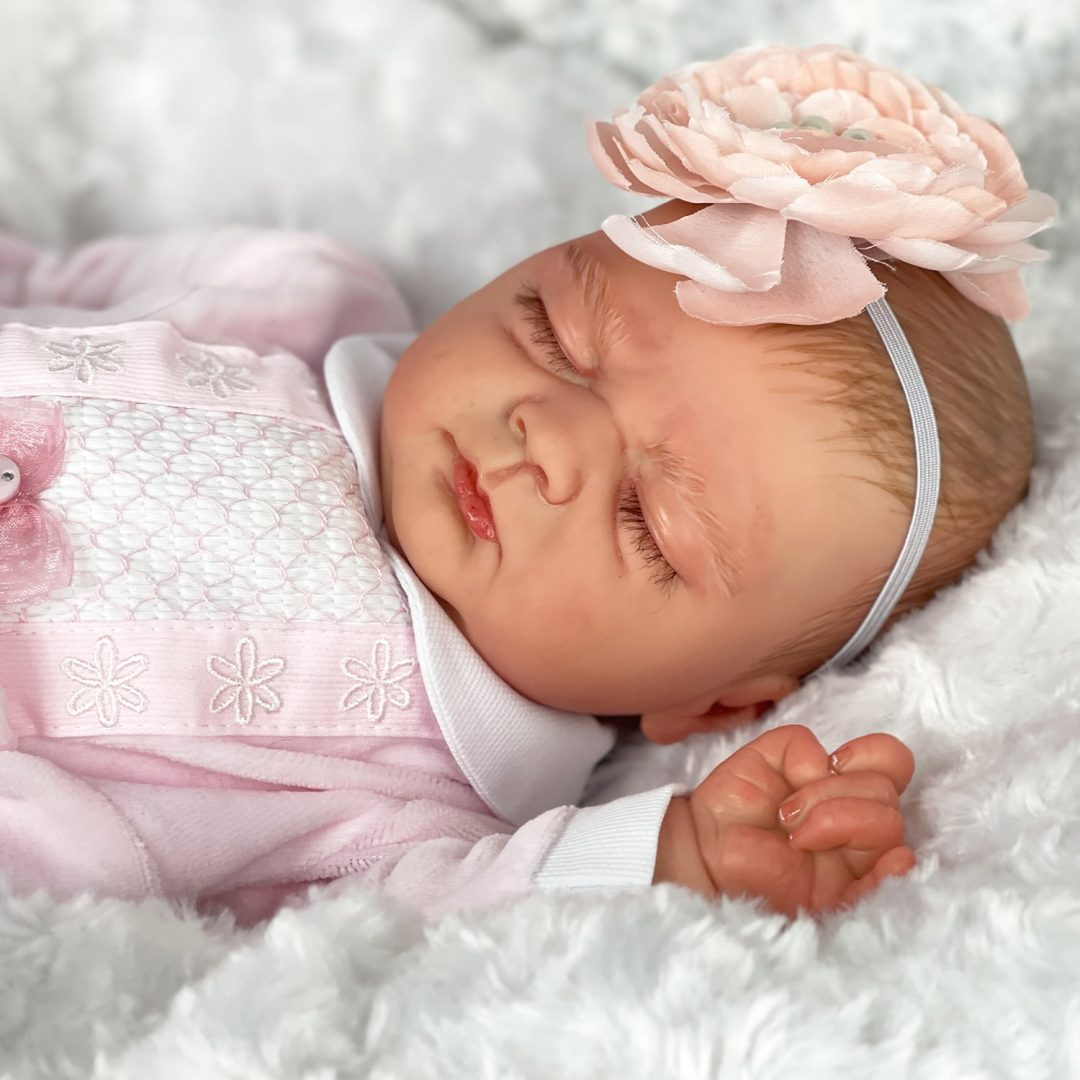 Chantelle Reborn Baby Doll Mary Shortle 1-min