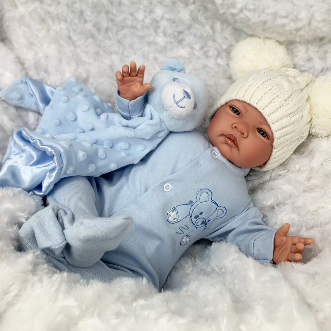 Little Teddy Reborn Boy Mary Shortle