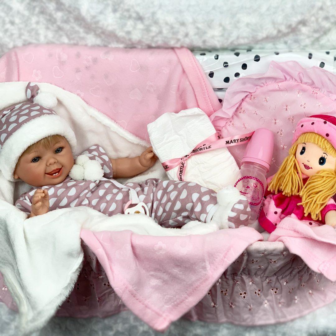 Lulu Marina & Pau Hamper Girl Play Doll Mary Shortle