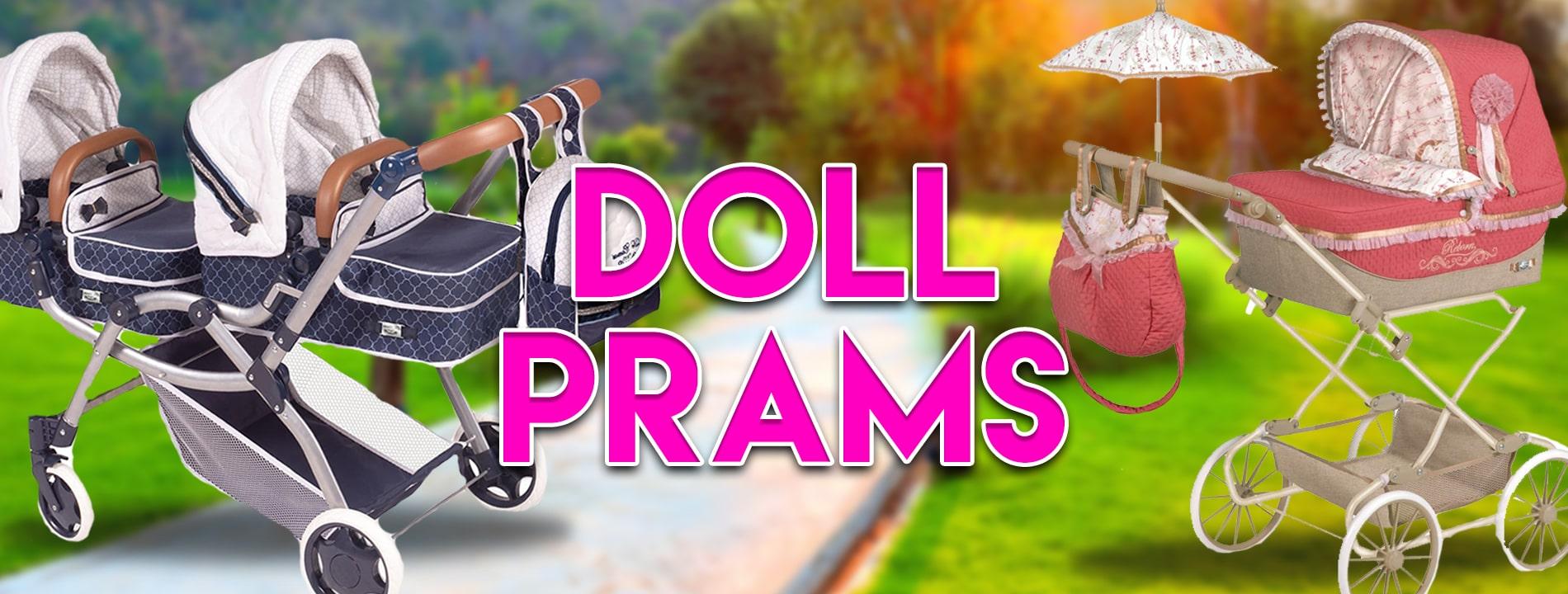Doll Prams Banner
