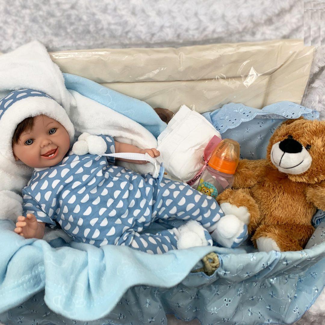 Lucas Marina Pau Doll Boy Hamper Mary Shortle