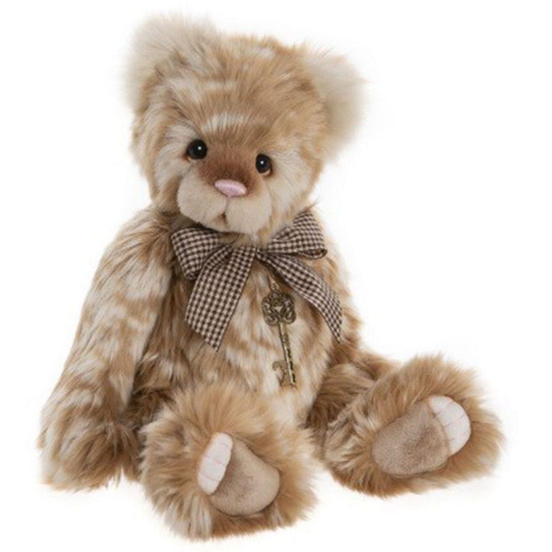Charlie Bear Peach Cobbler Teddy Mary Shortle