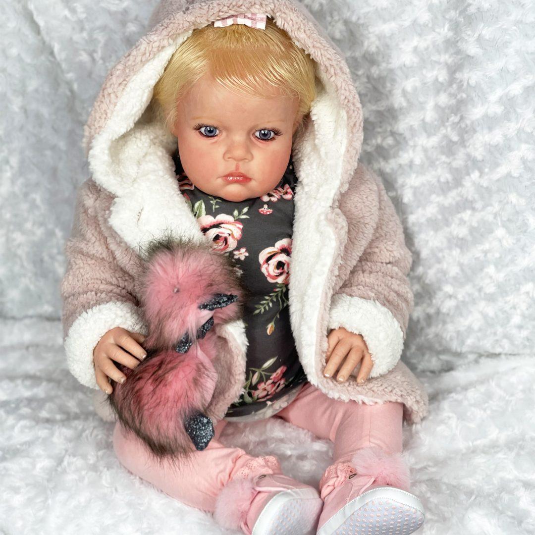 Louisa Reborn Baby Doll Mary Shortle 1-min