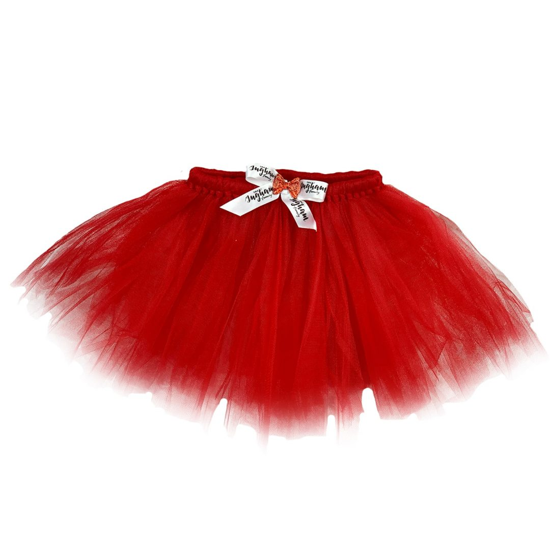 The Ingham family Christmas Deluxe Red Tutu Mary Shortle
