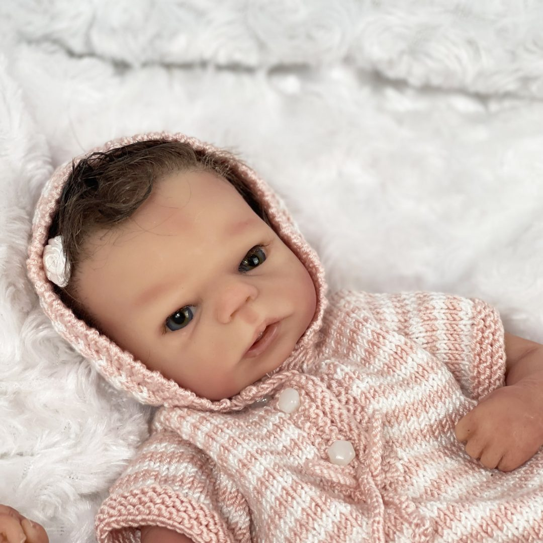 Ana silicone Baby Doll Mary Shortle 1-min