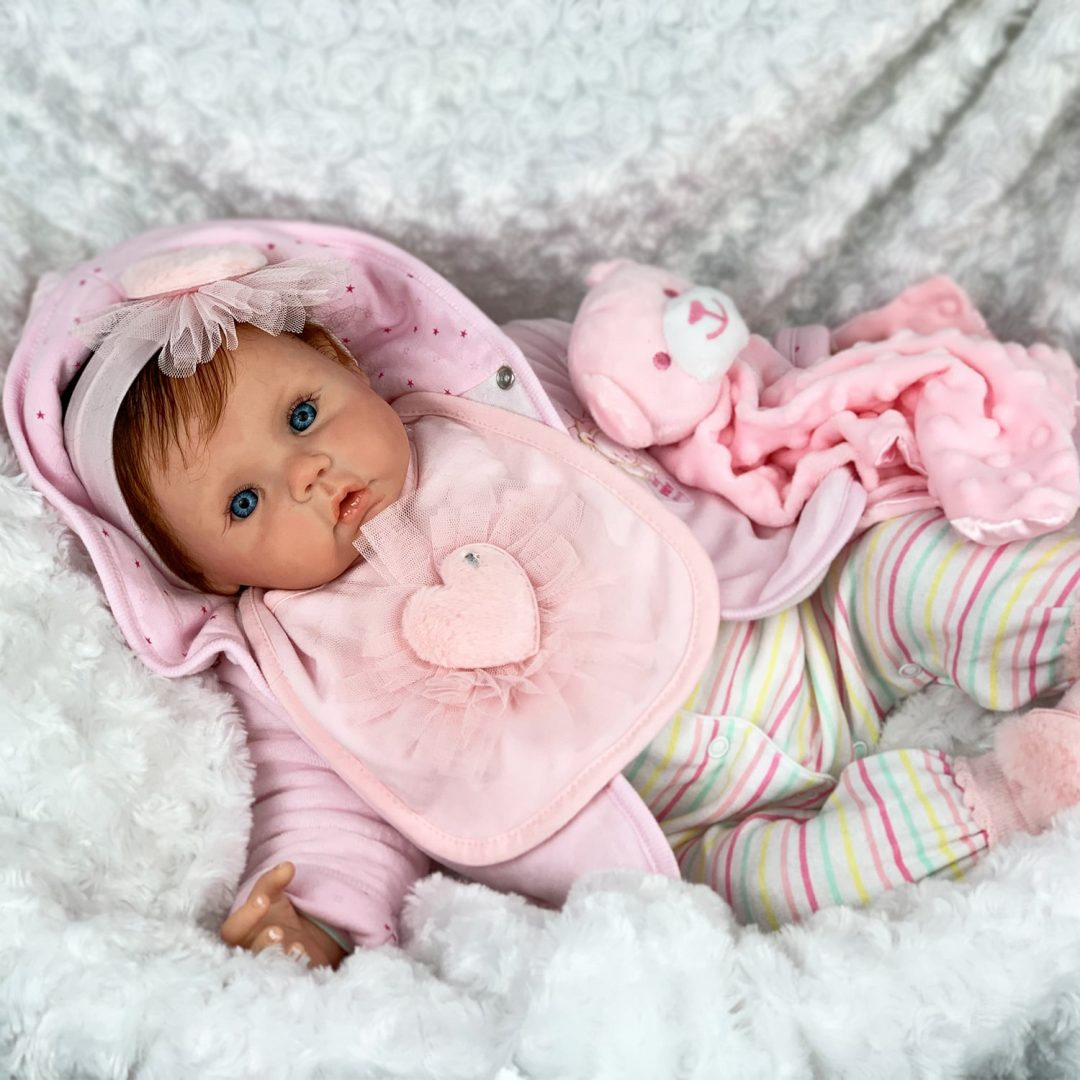 Gigi Reborn Baby Doll Mary Shortle