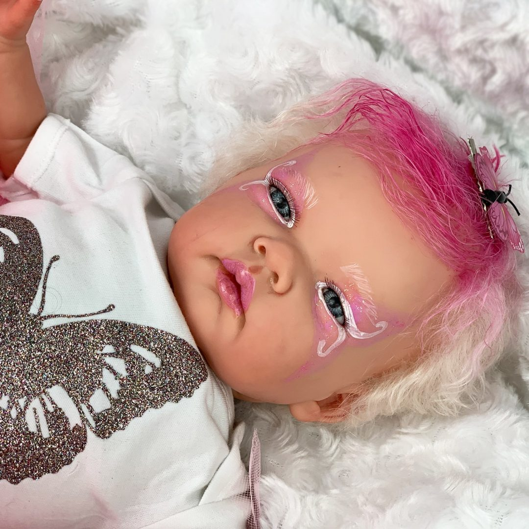 Hallie Butterfly Reborn Doll Mary Shortle