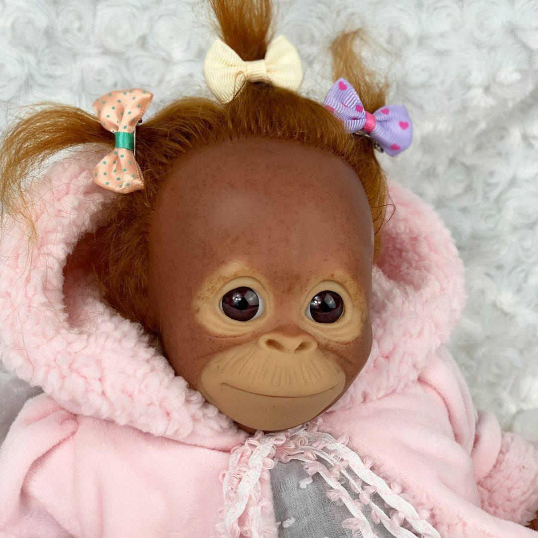 Nika Reborn Monkey Doll Mary Shortle