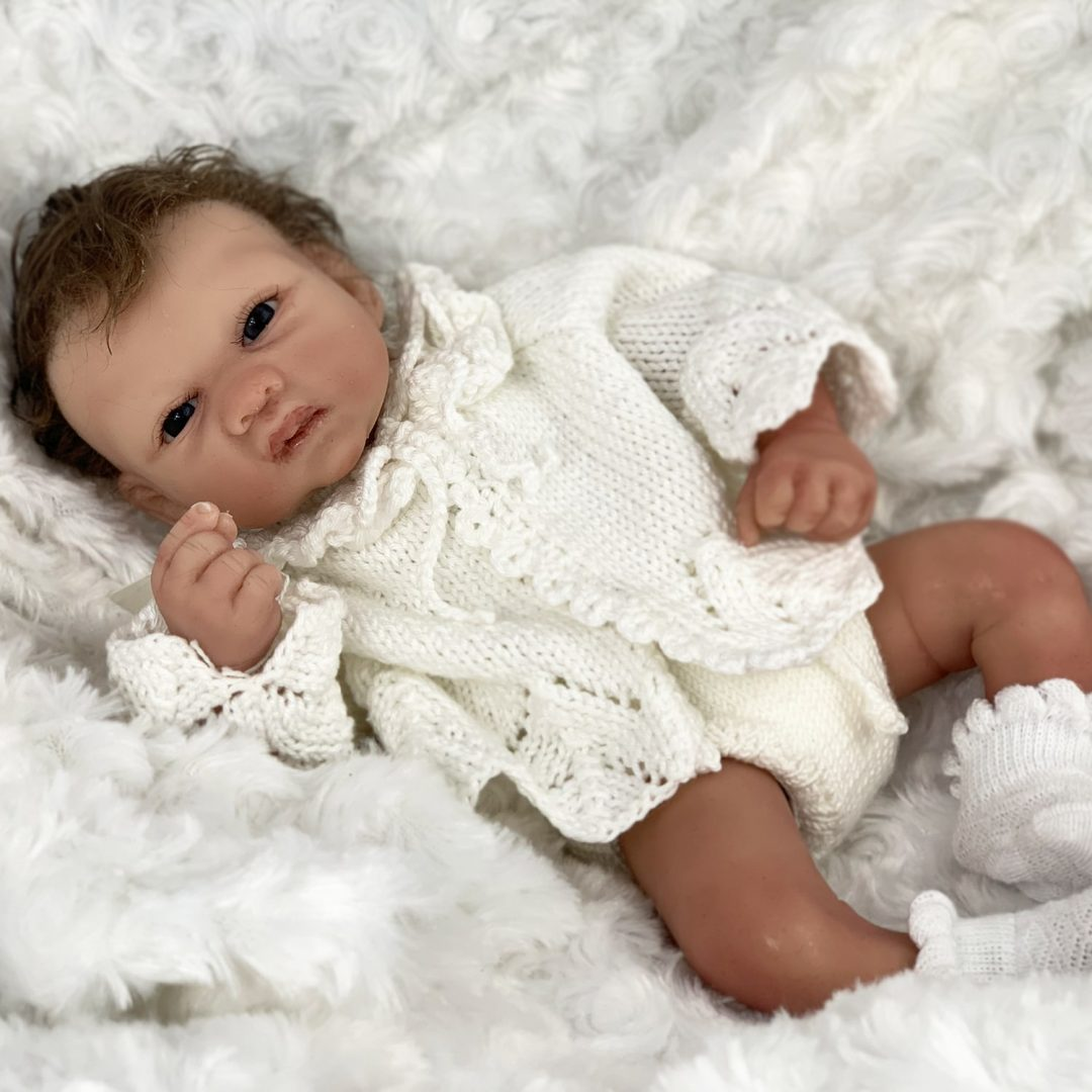 Silicone Baby Doll Mary Shortle