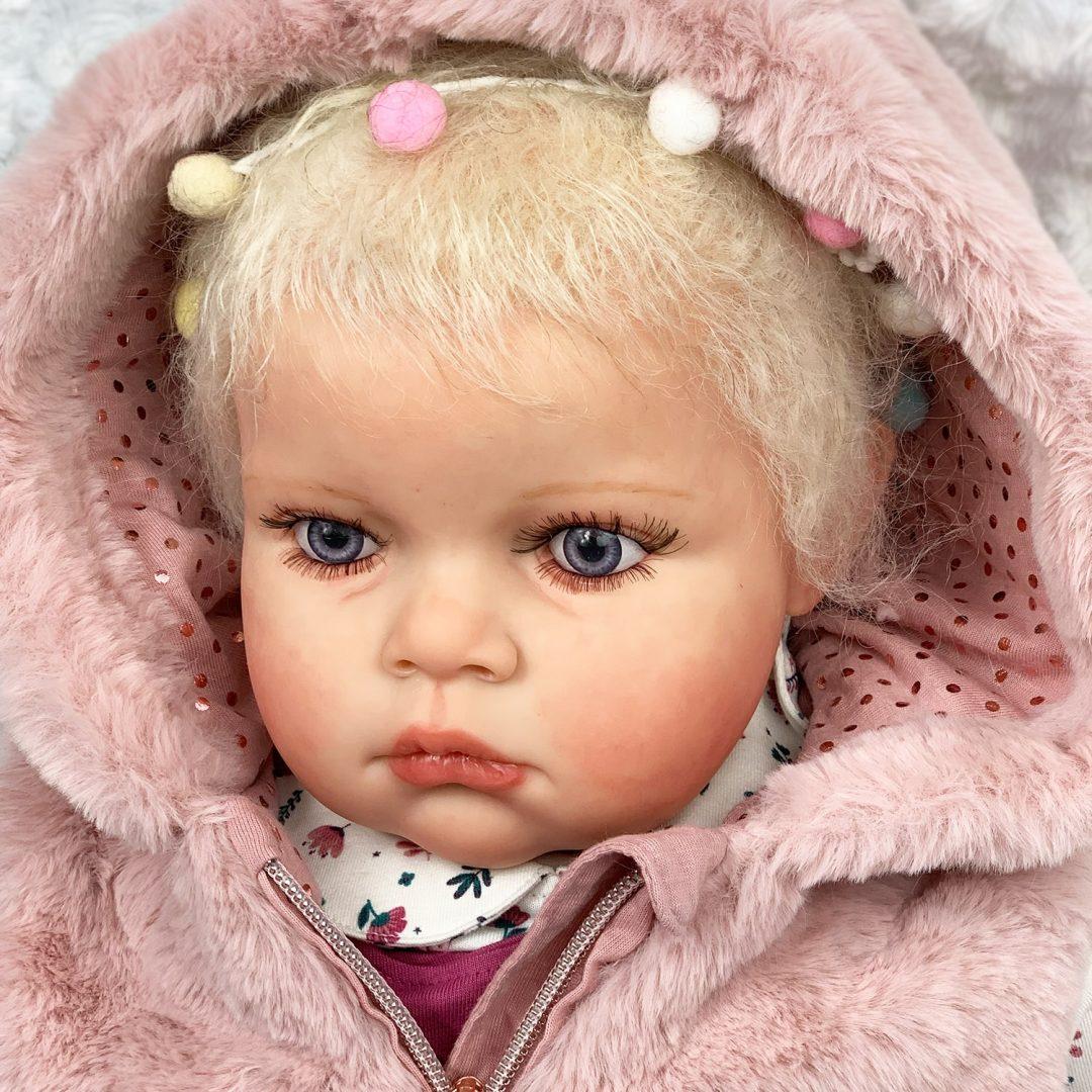 Tatiana Ann Reborn Toddler Doll Mary Shortle
