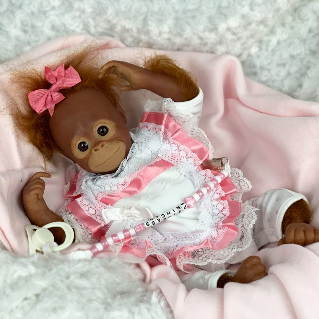 Trixie Monkey Orangutan Reborn Mary Shortle