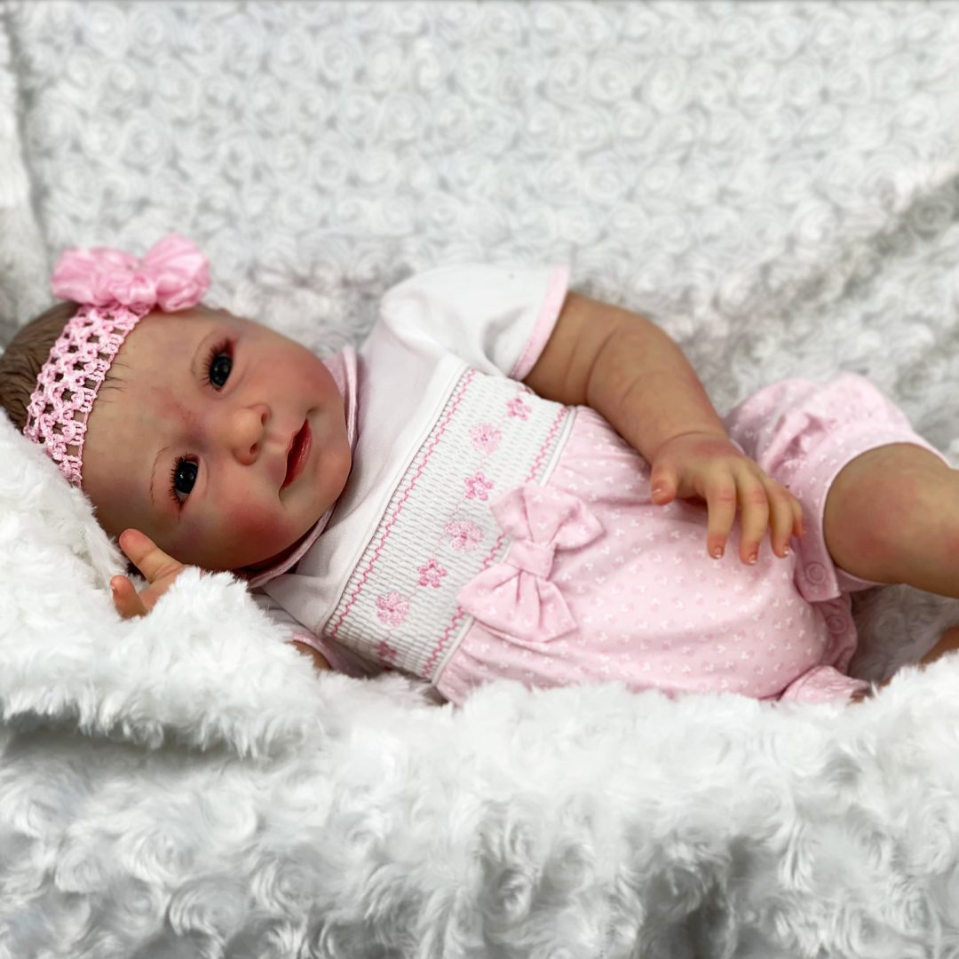 Cassis Premier Reborn Baby Doll Mary Shortle