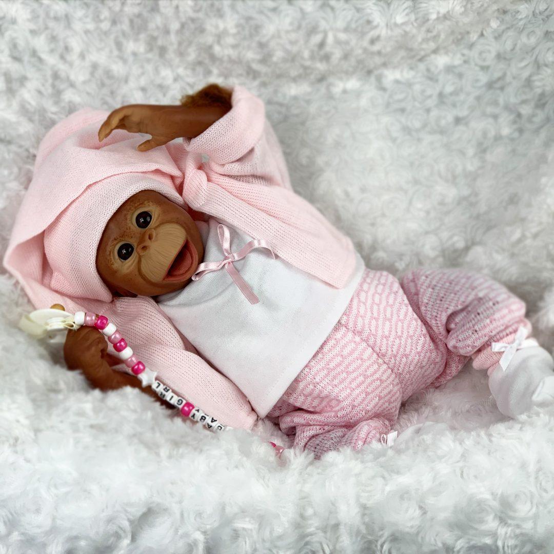 Cissy Reborn Baby Monkey Doll Mary Shortle