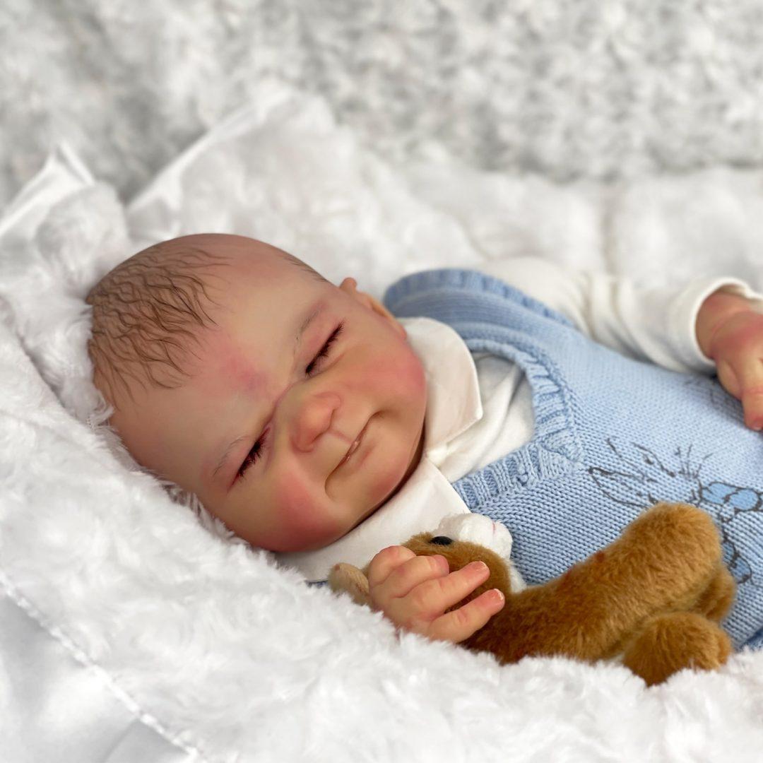 Franklin Reborn Baby Doll Mary Shortle 1-min