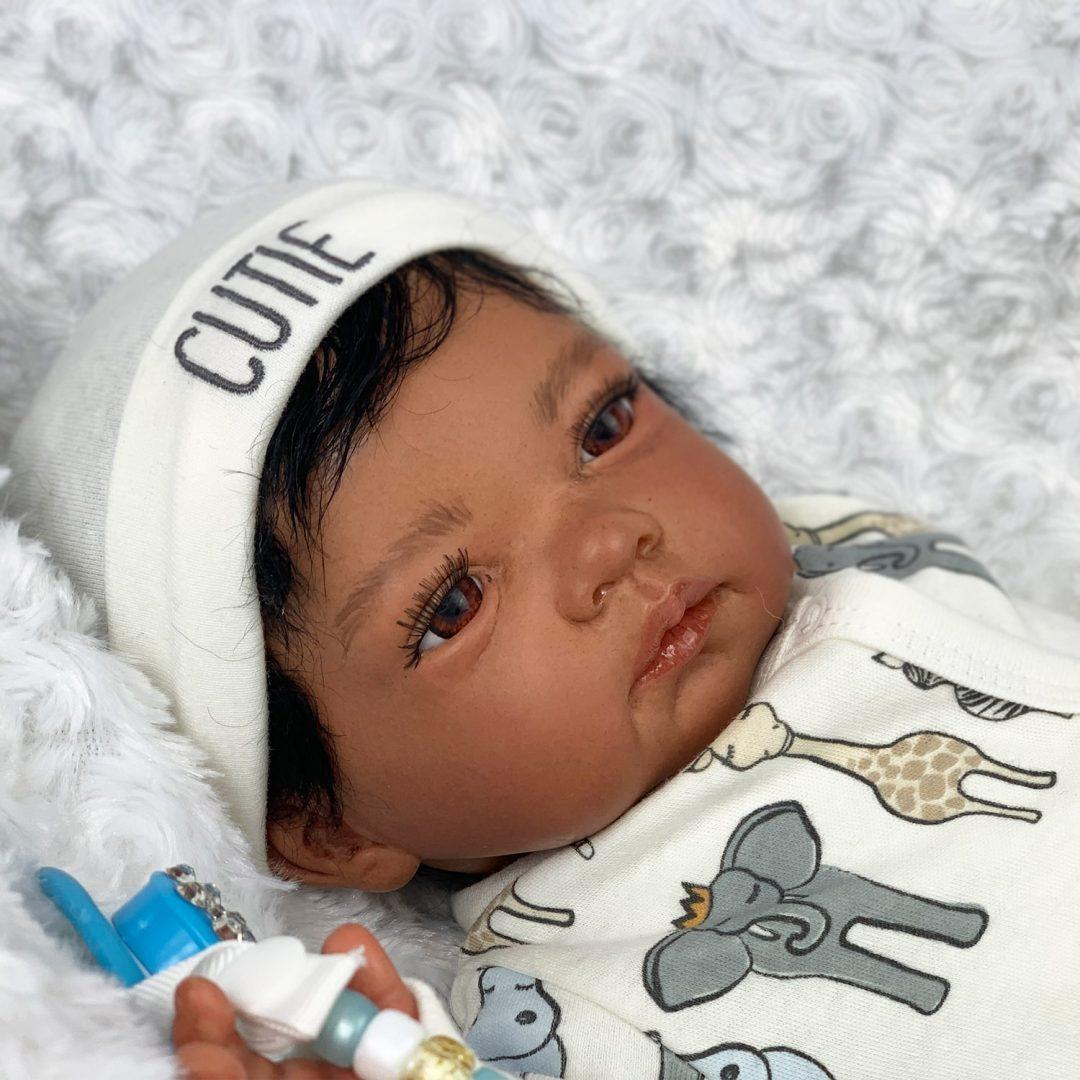 Johann Baby Reborn Doll Mary Shortle