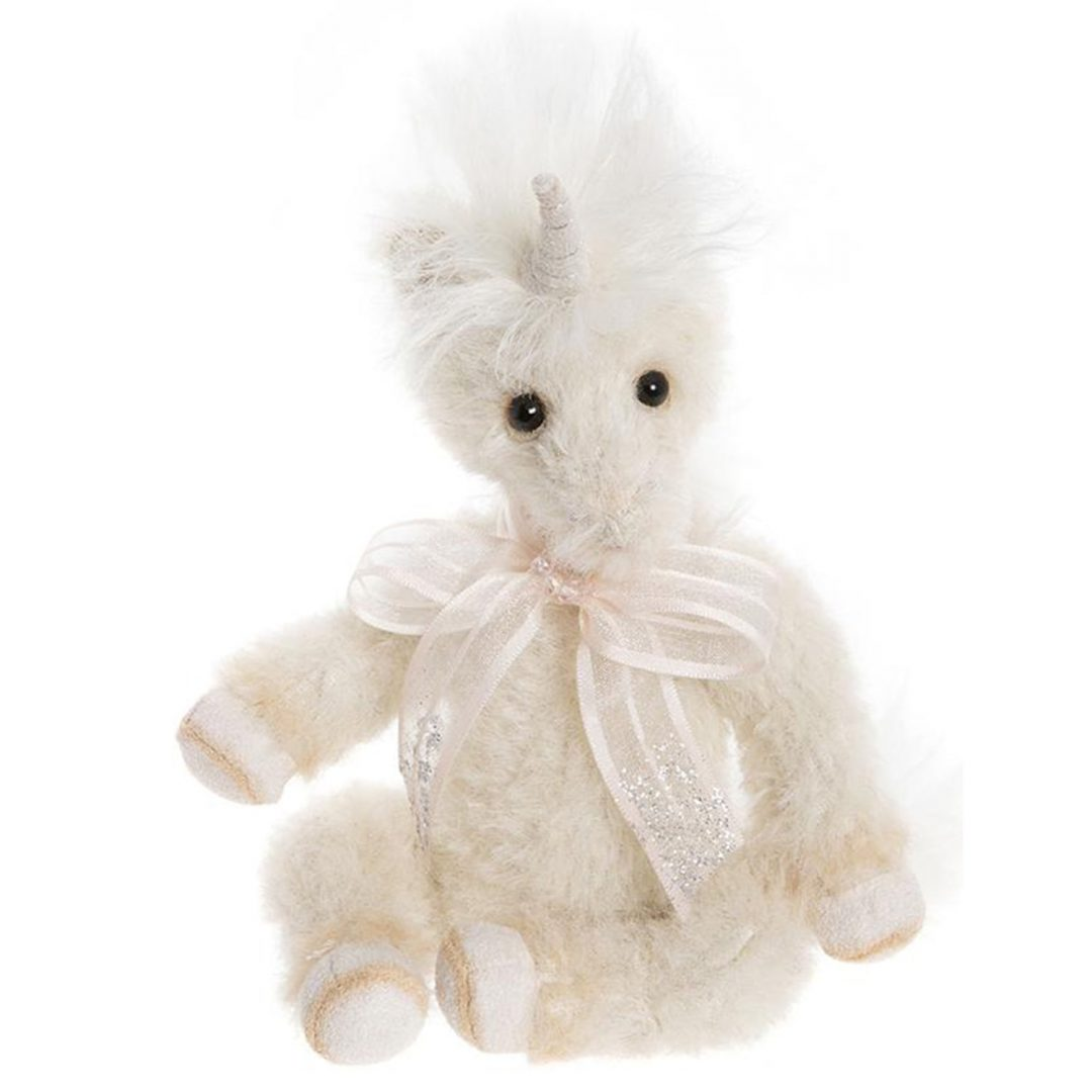 Little Gem Charlie Bears Unicorn Teddy Minimo Collection