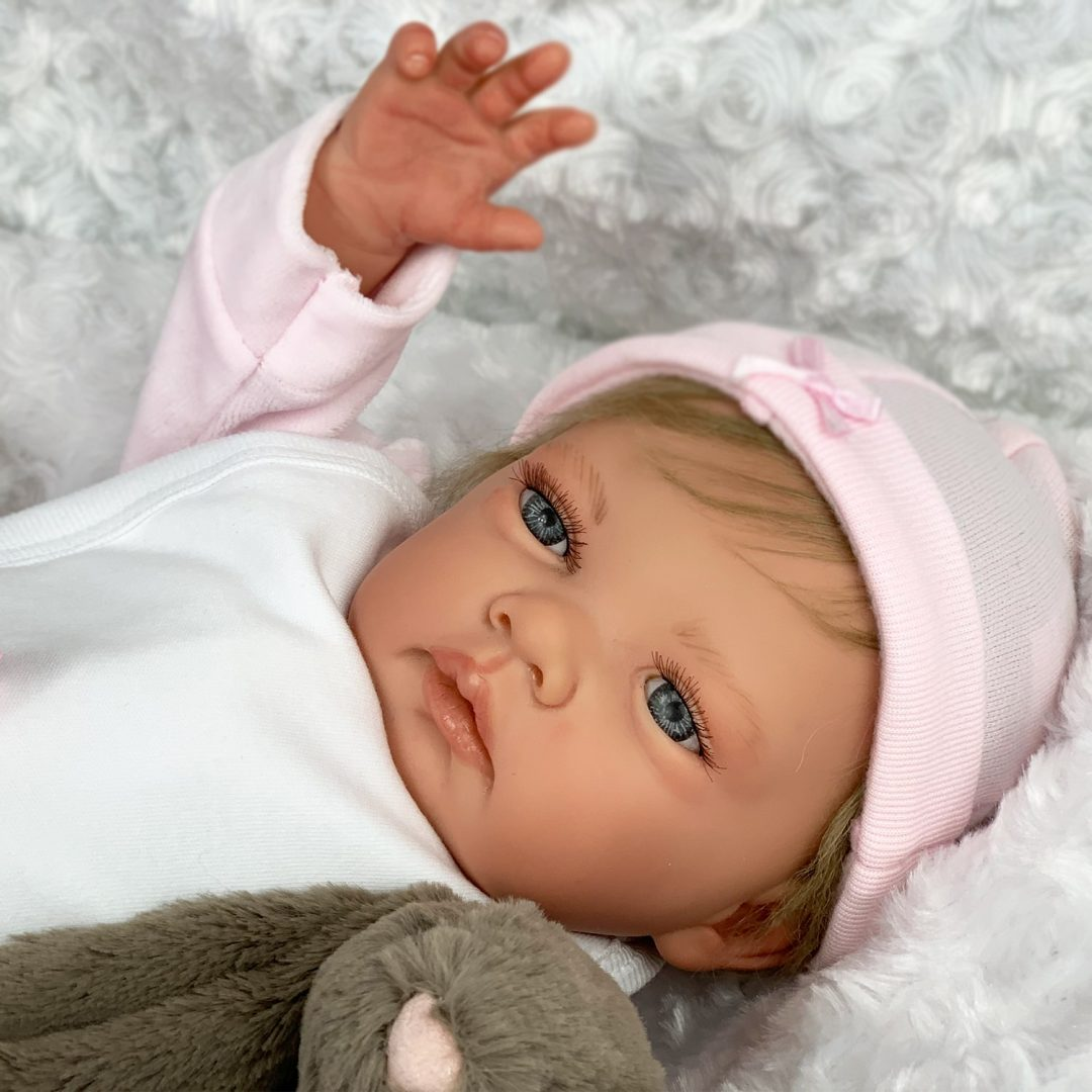 Ash Blonde Sofia Reborn Baby Doll Mary Shortle
