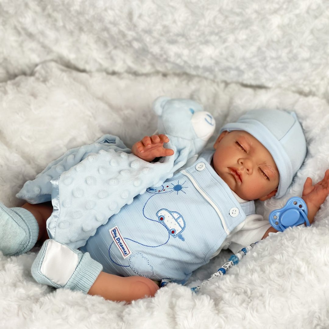 Jamie-Joe Reborn Baby Boy Doll Mary Shortle