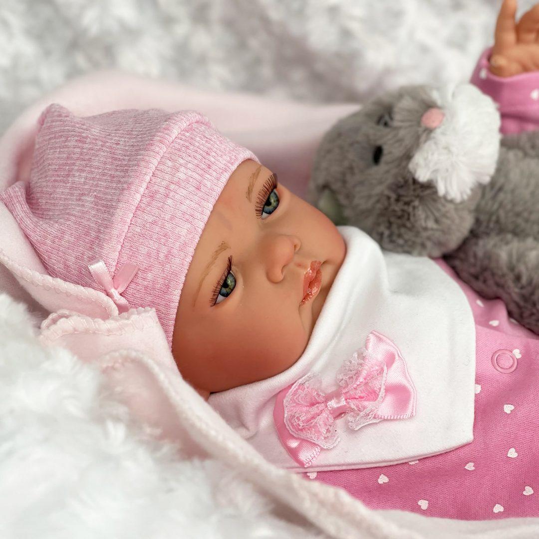 Kitty Reborn Baby Girl Doll Mary Shortle