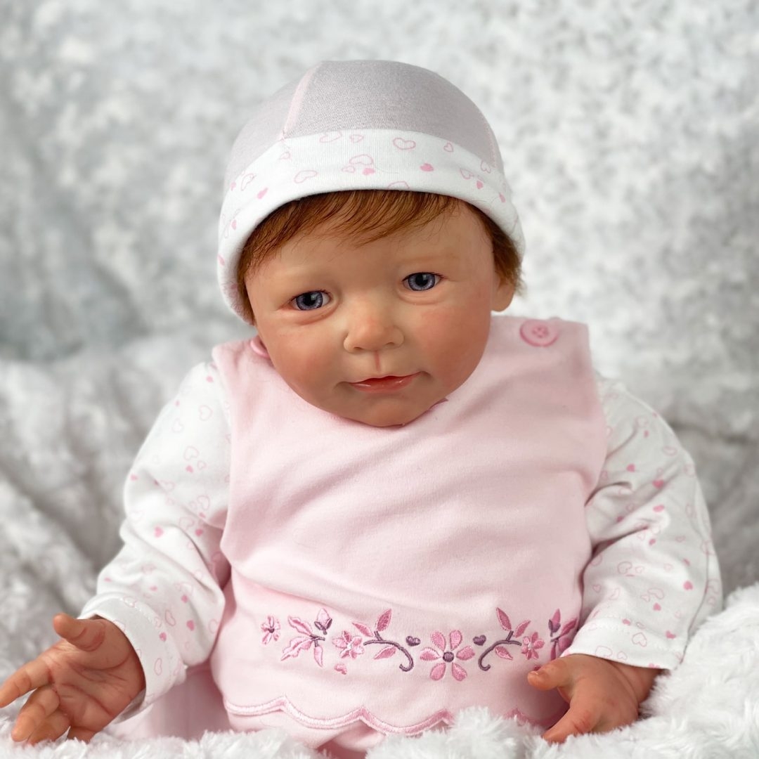 Lindy lou Reborn Baby Doll Mary Shortle 1-min