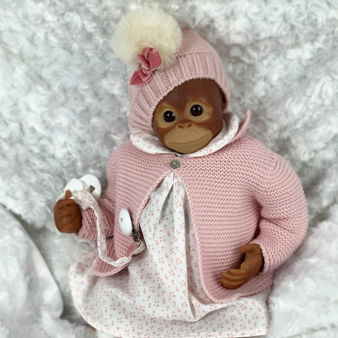 Mila Monkey Reborn Girl Mary Shortle