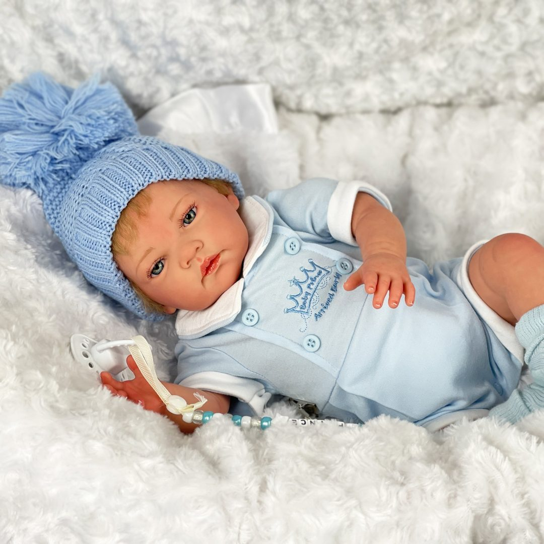 Noel Reborn Boy Doll Mary Shortle