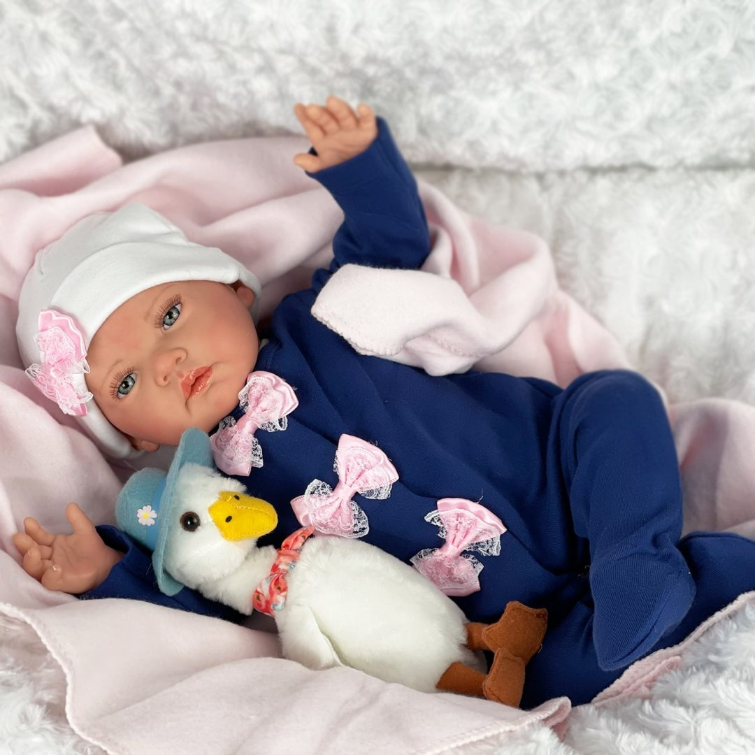Posy Reborn Baby Girl Doll Mary Shortle