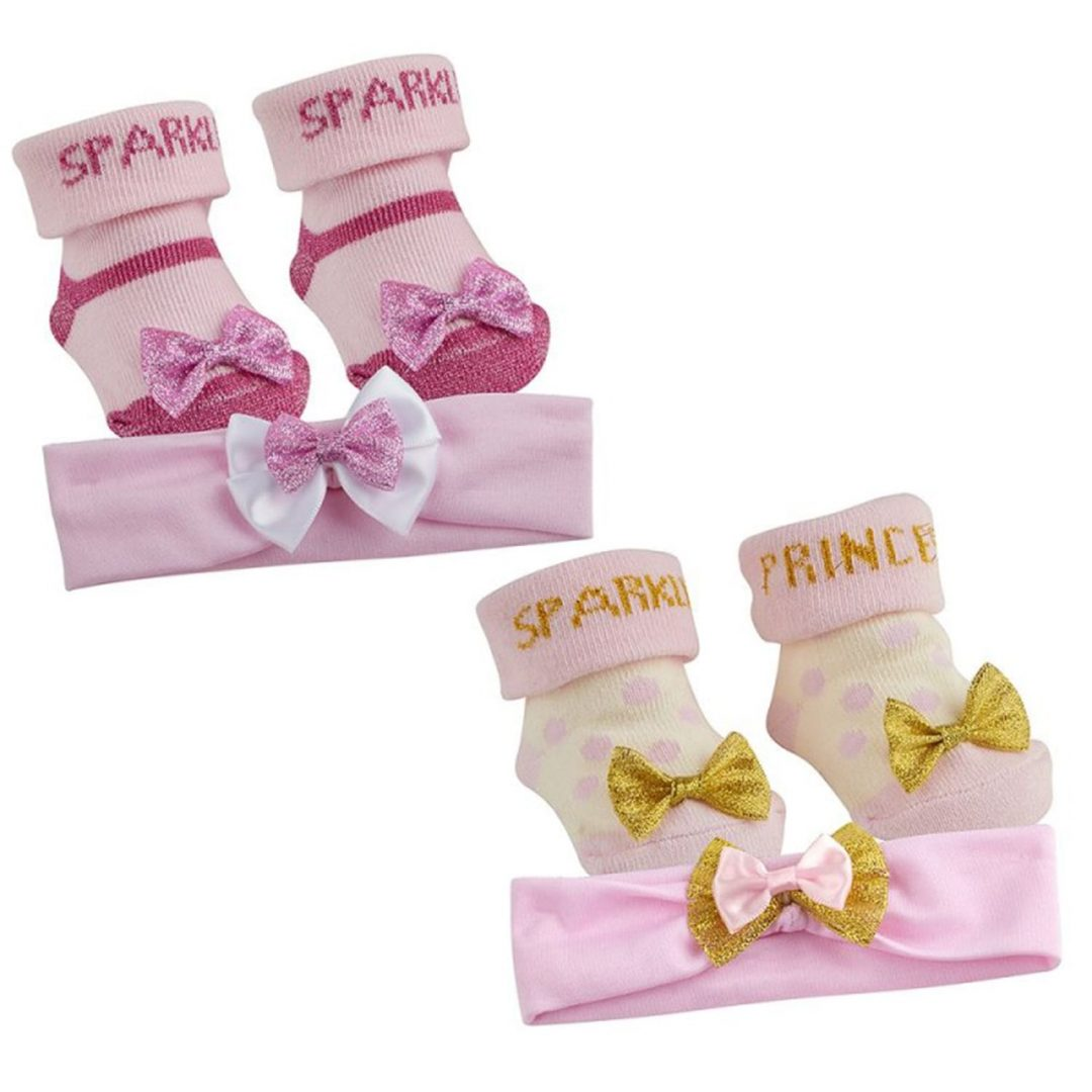 Sparkle Headband and Sock Set