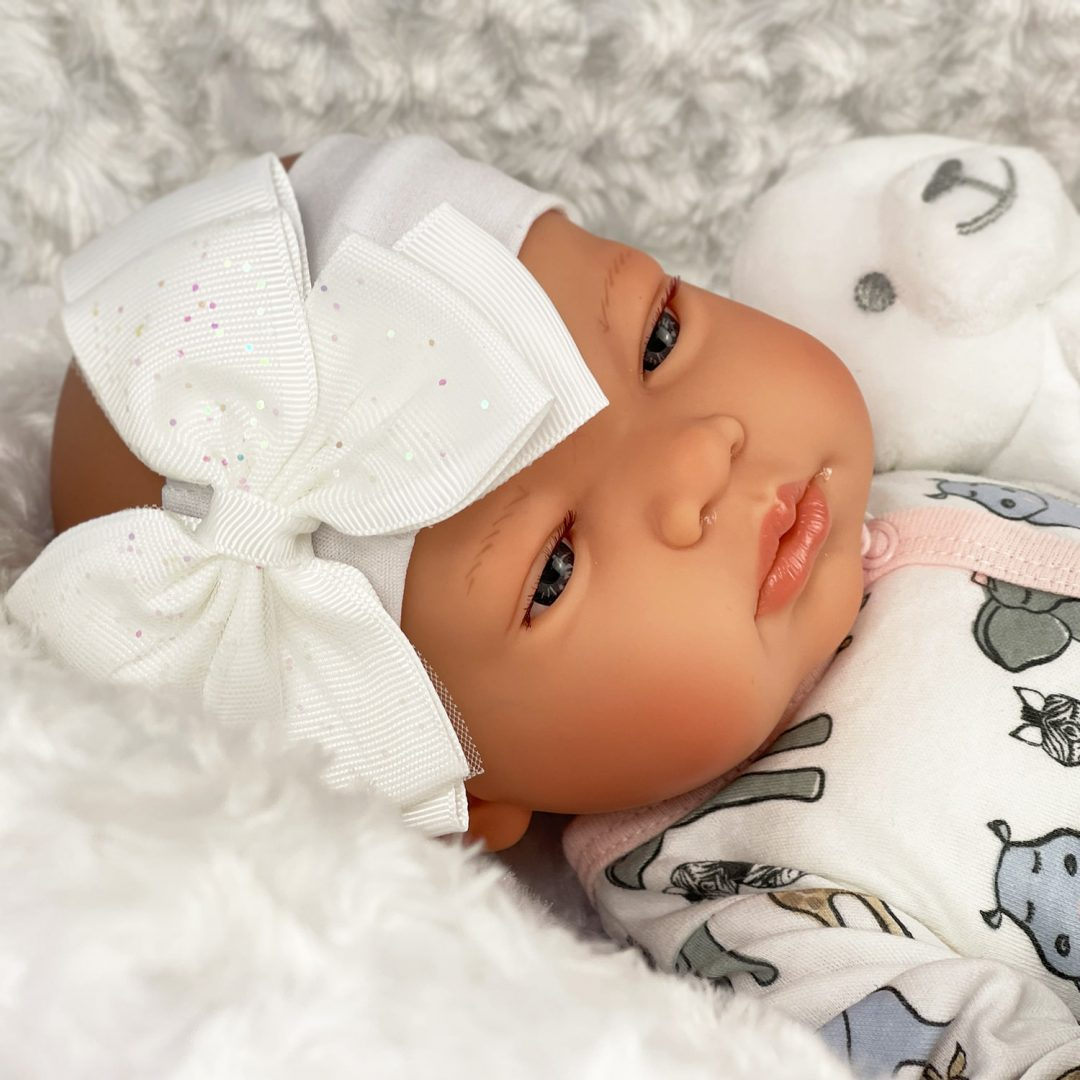 Sweet Rose Reborn Girl Doll Valentines Offer Mary Shortle