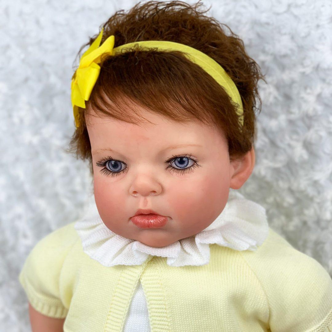 Anna-Maria Reborn Toddler Girl Doll Mary Shortle