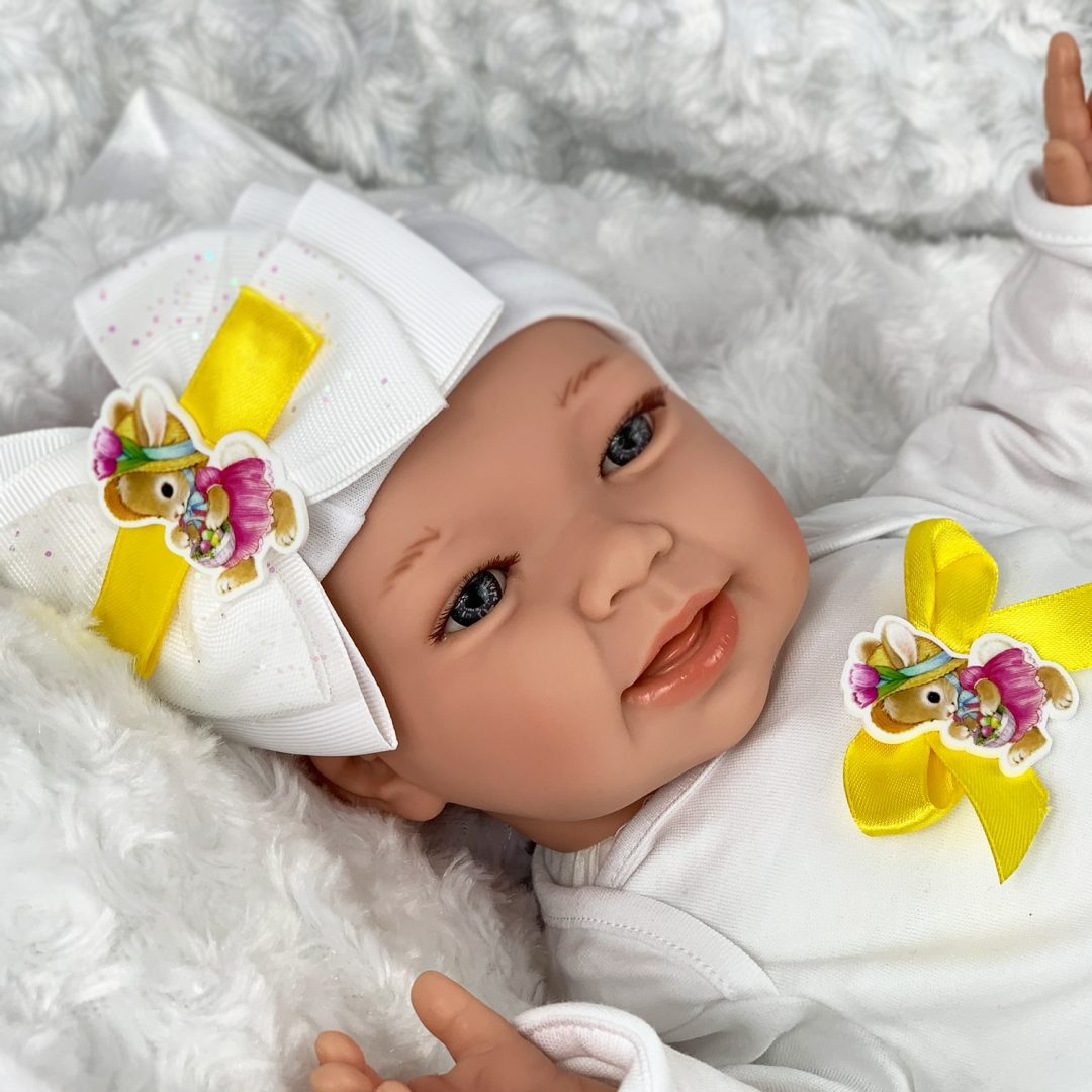 April Girl Baby Doll Mary Shortle