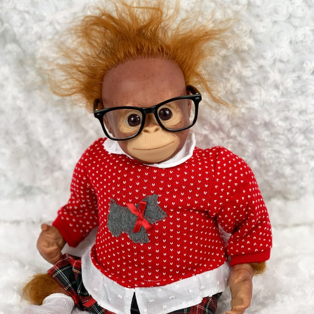 Romeo Reborn Monkey Doll Mary Shortle