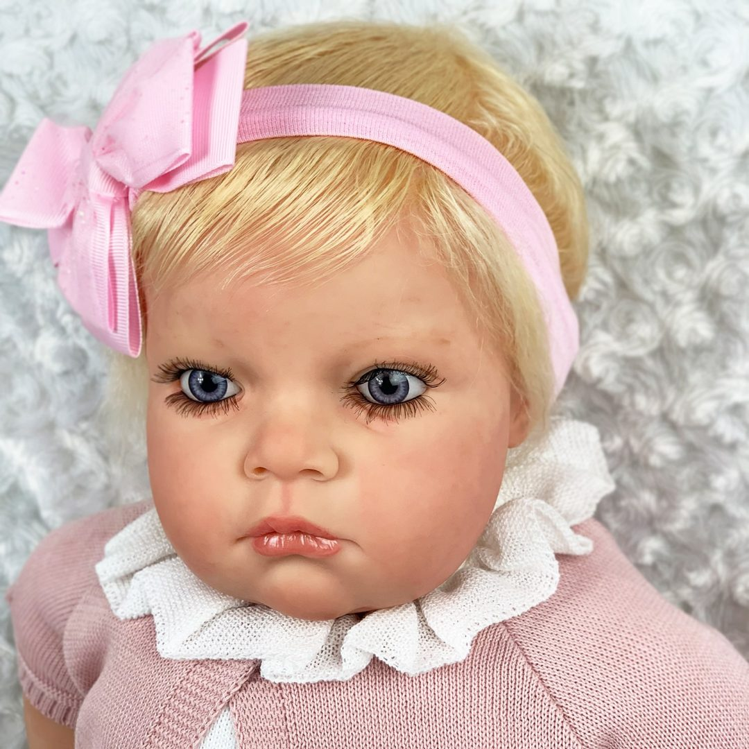 Serena Girl Toddler Reborn Doll Mary Shortle