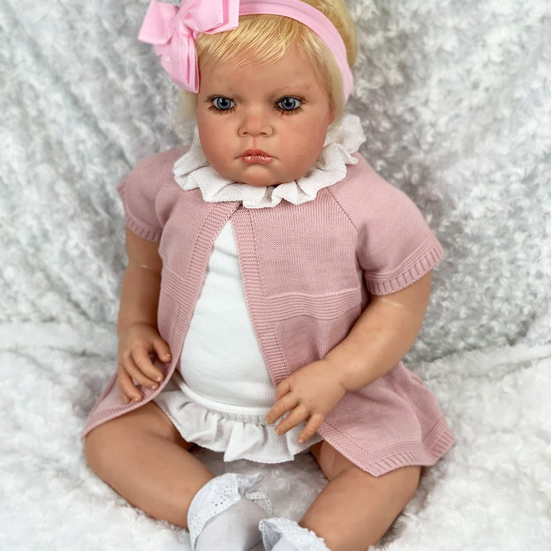 Serena Girl Toddler Reborn Doll Mary Shortle