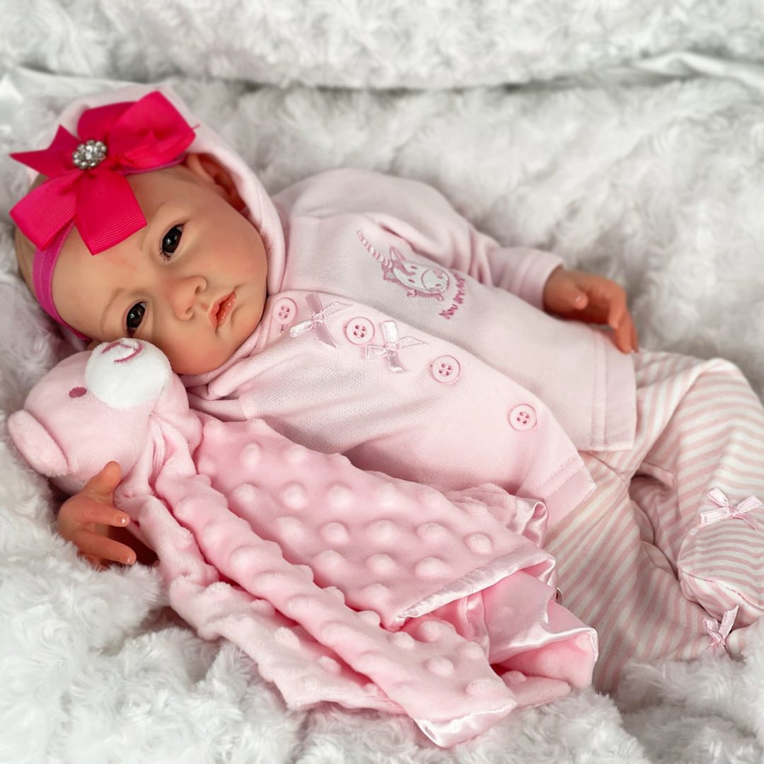 Summer Reborn Baby Girl Doll Mary Shortle