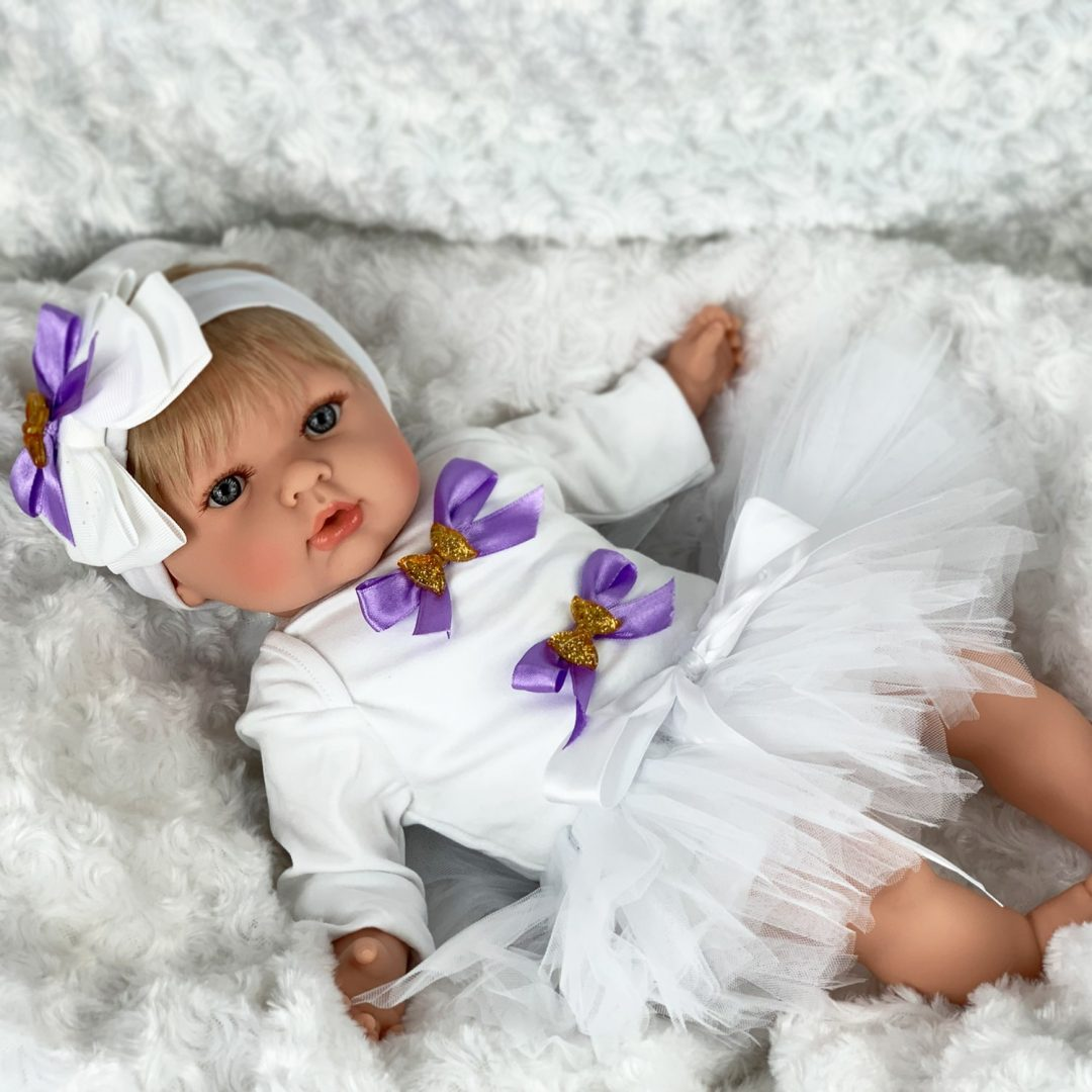 Tulip Girl Baby Doll Mary Shortle