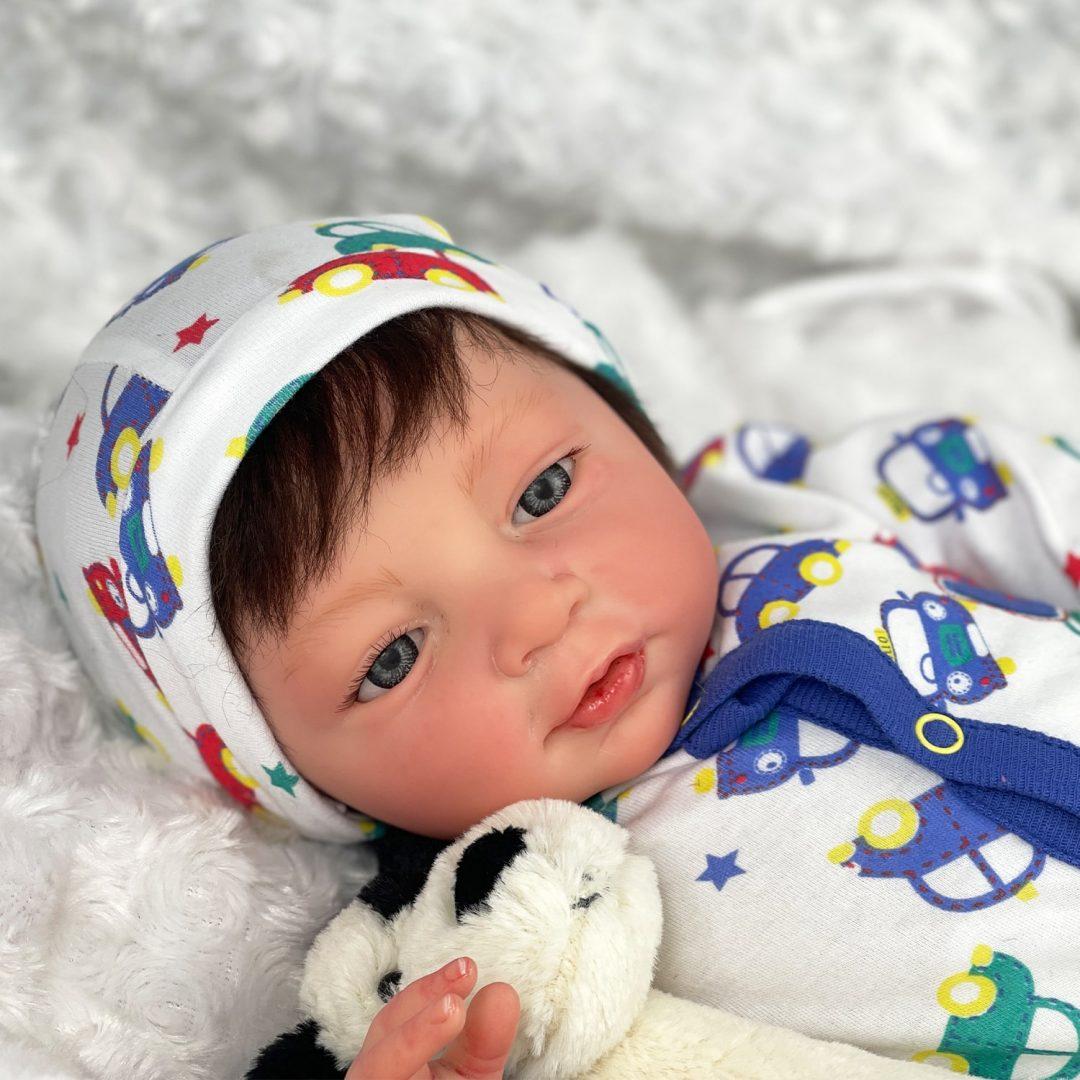 Tobias Reborn Baby Doll Mary Shortle 1-min